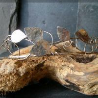 Unique handmade silver circlet